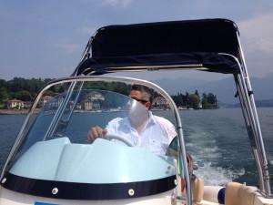 Ben on Lake Como