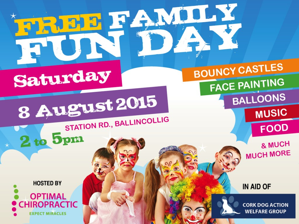 Free Family Fun Day at Optimal Chiropractic