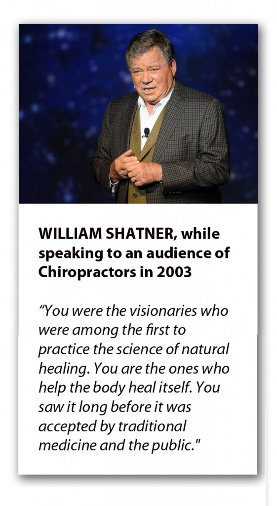 William Shatner Chiropractic