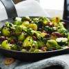 Brussel Sprouts with Bacon, Walnuts and Honey