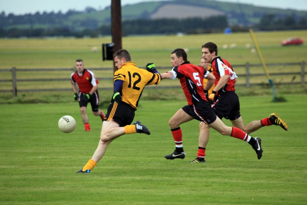 GAA footballers playing