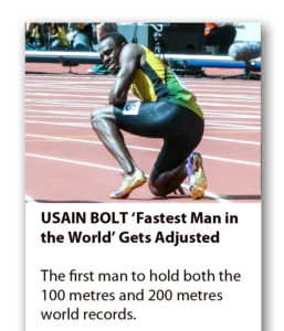 Usain Bolt and Chiropractic